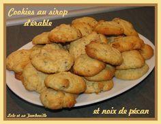 Cookies aux noix de pécan et sirop d'érable (2)