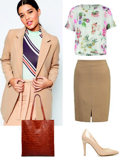 Stylish woman work clothing recommendation | UK shop spring fashion womenswear for office | Female daily outfit shopping trend