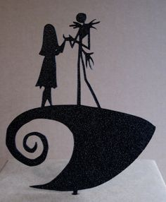 Wedding Cake Topper The Nightmare Before Christmas by Plasticsmith, $25.00