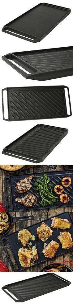 Marquette Castings Enameled Reversible Cast Iron Griddle