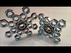 DIY Fidget Toy | Hand Spinner Model 6&7  | Hardware Store Items Easy To Make For Beginners - YouTube
