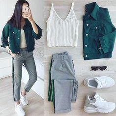 Simple Outfits, Classy Outfits, Outfits For Teens, Stylish Outfits, Girls Fashion Clothes, Winter Fashion Outfits, Fashion Fashion, Fashion Models, Frugal Male Fashion