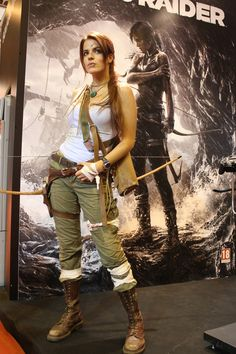Of all the Laura Croft cosplays I've ever seen, I think this one is my favorite.