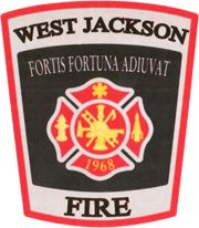 West Jackson Fire Department - Braselton, Georgia #nicestitch #patches #firedepartments #setcom  http://setcomcorp.com/csbheadset.html
