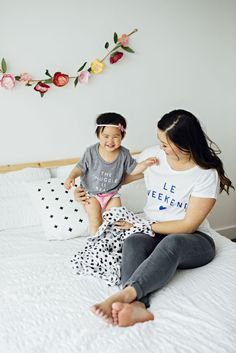 Baby Graphic Tees | mini style | baby style | fashion for little girls | cute graphic tees for kids || Sandy A La Mode