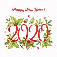 Happy New Year Greetings, Happy New Year 2020, Merry Christmas And Happy New Year, Christmas Is Coming, Happy New Year Pictures, New Year Photos, New Year Backdrop, Backdrop Ideas, New Year Resolution Quotes