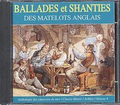 Angleterre : Ballades Et Shanties Des Matelots Anglais: CD Album (English interprets)