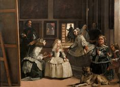 Las meninas or the family of Felipe IV, is considered the masterpiece of the Spanish Golden Age painter Diego Velázquez. The central theme is the portrait of the Infanta Margaret of Austria, placed in the foreground, surrounded by her servants, «the meninas»  -Museo del Prado-   Omnis Ars (@ars_omnis) | Twitter