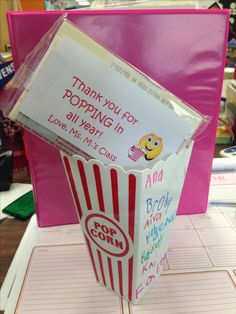 Parent volunteer gift for end of the year