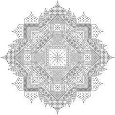 Chakra blackwork design by SEBA Designs
