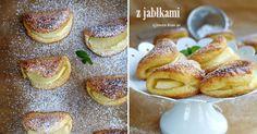 Desery - Serowe ciasteczka z jabłkiem
