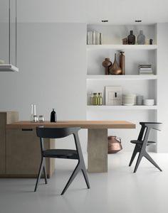 Style è la cucina moderna le cui numerose finiture permettono un alto grado di personalizzazione delle composizioni.