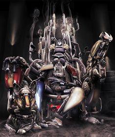 Robotic Motorcycle God