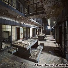 Abandoned prison  Visit my Abandoned America website for more by abandoned_america