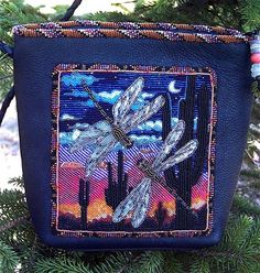Small Beaded Purse Beaded Shoulder Purse Pocket Book Intricate Bead Work Custom Small 4 12 x 4 Wide Hippie Vintage 1970/'3