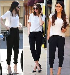 """Esses dias, usei minha calça jogger preta e minha amiga parou para elogiar: """"Nossa Cony, que calça bonita!!!"""". Juro que olhei pra calça, analisei e conclui: não é que é bonita mesmo? Acho que não estava dando o merecido valor pra essa calça… é bem aquele tipo de roupa que a gente pega para usar …"""