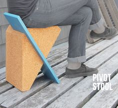Pivot Stool | Andy Lee | Archinect