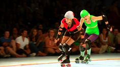 Roller Derby in Portland - Rose City Rollers I just cried I'm so motivated to get this going!