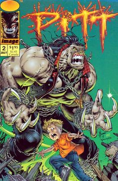 Pitt #2 (1993-1995) Image Cover pencils by Dale Keown, inks by Scott Williams. Dead Or Alive, script by Dale Keown (plot) and Brian Hotton (script), pencils by Dale Keown, inks by Jim Rubinstein and Scott Williams; Due to the fact that Timmy and Pitt both have the same genetic signature, three Creed hunters show up at the little boy's house trying to kill him; Pitt intervenes. Early Gen 13 ad where they were still being called Gen X, pencils by J. Scott Campbell (as Jeffery Scott), inks by…