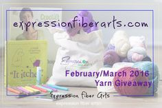 Expression Fiber Arts February / March 2016 Luxury Yarn Giveaway. Enter now!
