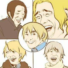Hetalia - The . Allies <<< what is this Hetalia Funny, Moment Of Silence, Axis Powers, Dear Lord, Doujinshi, Funny Posts, Nerdy, Fandoms, Fan Art