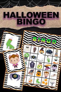 Printable Halloween Bingo game, kids of all ages can play this classic game. Cute Halloween bingo boards and calling cards. Great to play at home or at school. #bingo #halloweenbingo #halloweengame Halloween Decorations For Kids, Halloween Activities For Kids, Kids Party Games, Halloween Themes, Spy Party, Halloween House, Cute Halloween, Halloween Movies, Halloween 2020