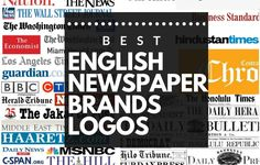 21 Best English Newspaper Brands Logos | Brandyuva.in