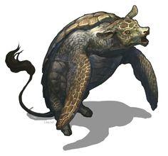 Mokkutātoru by G. River (Cow + Turtle)