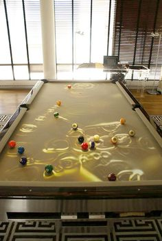 Projector Pool Table