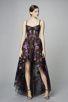 Shop this flirty high-low dress at Farfetch.com!