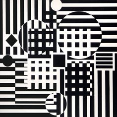 Vasarely, Unique Gouache, Encelade, c. 1960