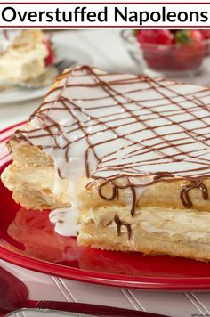 Napoleons are a classic bakery favorite, and we've come up with an easy way to make them at home!