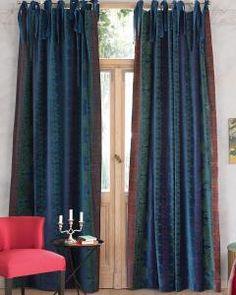 Vossberg Gardinen vorhang mauve faux silk 142 mauve