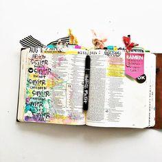 Bible Journaling by Shanna Noel @shannanoel