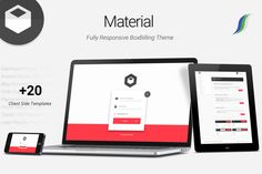 Material - Premium BoxBilling Theme > Material is Fully Responsive and Customized #BoxBilling #Theme. It features Google #MaterialDesign & Its effects. Along with countless Templates and Pages! Highly Recommended for those who want to have a Leading Hosting or Customer Support Portal.
