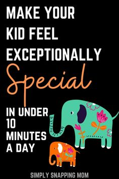 Mom Advice | We all wish we could spend hours making our kid feel special each day- but in reality, we dont all have the time we wish we had. This quick method is proven to help make your kid feel loved and special in under 10 minutes a day. Great positive parenting tips for busy moms! Feeling Loved, Feeling Special, Parenting Articles, Parenting Hacks, Feeling Numb, Mom Advice, Three Kids, Our Kids, Mom Humor