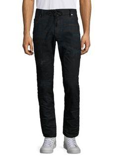 DIESEL Krooley Distressed Slim-Fit Jeans. #diesel #cloth #jeans