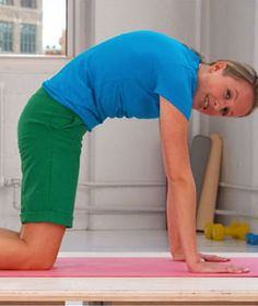 Follow the simple set of lower-back stretches once a day and your whole body will benefit.