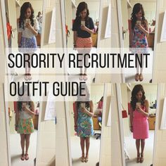 Sorority Recruitment Outfit Guide Navy Or Nothing - Geek Sorority Recruitment Tips, Sorority Rush Week, Panhellenic Recruitment, Sorority Recruitment Outfits, College Sorority, Sorority Life, Sorority Canvas, Sorority Paddles, Sorority Crafts