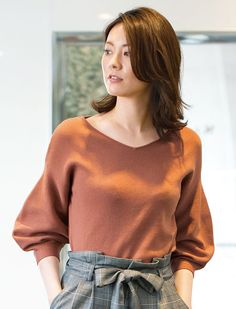 安座間美優 パフスリーブニットトップ NEWアイテム 8/5UP NEWアイテム | 女性ファッション通販サイトFABIA(ファビア)