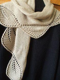 garden view shawlette, free knitting pattern