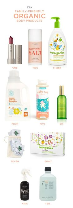 10 Family-Friendly Organic Bath and Body Products. I spy, not one, but TWO past POPSUGAR Must Have Products! We absolutely loved working with ILIA and One Love Organics. Cheers to organic!