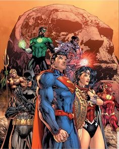 Justice League, Marvel Dc, Marvel Comics, Warhammer 40k Rpg, Dc Comics Art, Jim Lee, Detective Comics, Dc Universe, Superman