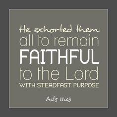 Thoughts on the meaning of being faithful. Awesome blog post, love the picture!