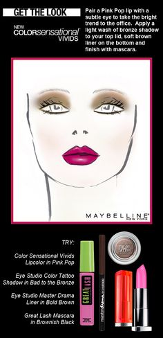 Bold Lips for day with Maybelline Color Sensational Lip Color. http://www.maybelline.co.in/products/lips/lip_color/color_sensational.html