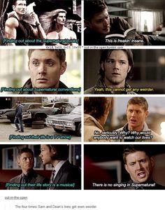 10x05 Fan Fiction (4x18, 5x09, 6x15) [gifset] - The four times Sam and Dean's lives got even weirder - Supernatural