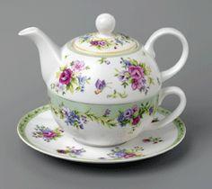 Ashdene - Kensington White - Tea for One