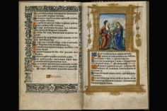 """An illuminated prayer book from 1533 was inscribed to Henry by his fourth wife, Anne of Cleves:  """"I besiche your grace humb[ly?] when ye loke on this remember me."""""""