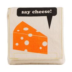 Fluf Organic Cotton Single Snack Pack Lunch Bag, Say Cheese Pack Lunch Bags, Snack Bags, Sandwich Bags, Wrap Sandwiches, Reusable Food Wrap, Cheese Packaging, Organic Snacks, Beeswax Food Wrap, Cheese Snacks