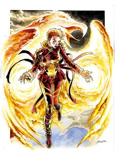 Phoenix Rachel by DanielGovar on deviantART